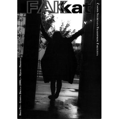 FAKKAT, student magazine, FAKAT, Časopis studenata filozofskog fakulteta