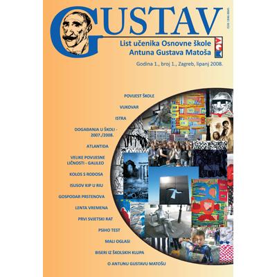 GUSTAV - Magazine of Primary School, GUSTAV - Časopis Osnovne škole