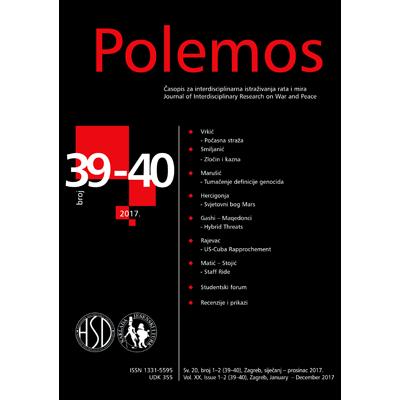 POLEMOS - Journal of Interdisciplinary Research on War and Peace, POLEMOS - časopis za interdisciplinarna istraživanja rata i mira