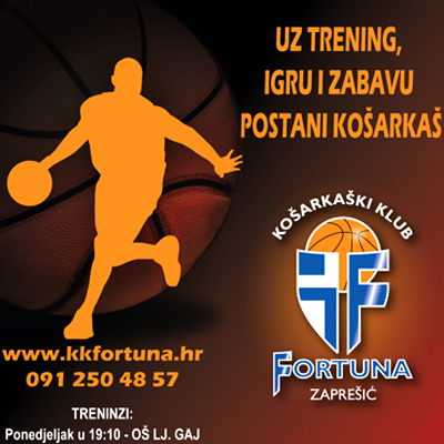 Fortuna Basketball Club, KK Fortuna